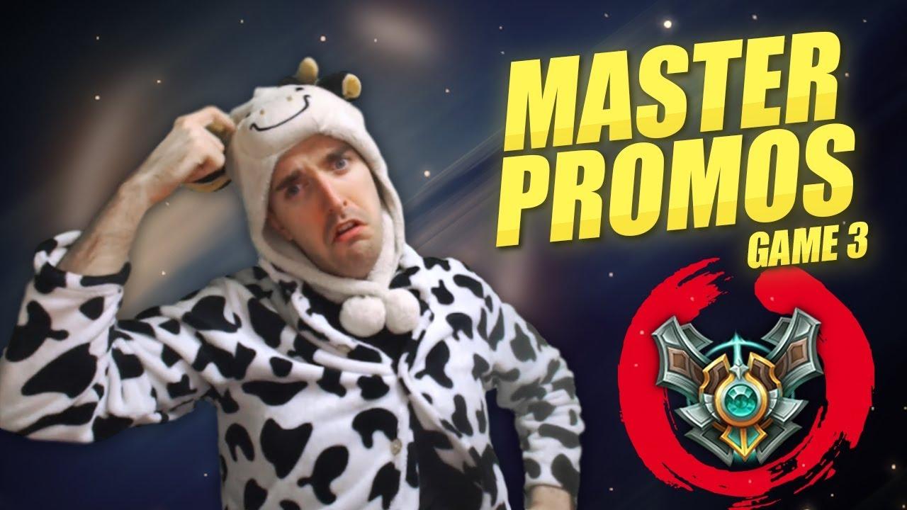 MASTER PROMOS GAME 3 - WAY TOO CLOSE! - Cowsep