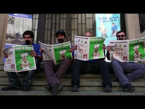 Israël: le chef de la diplomatie met Charlie Hebdo à disposition