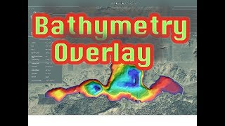 How To Overlay Bathymetry Maps on Google Earth
