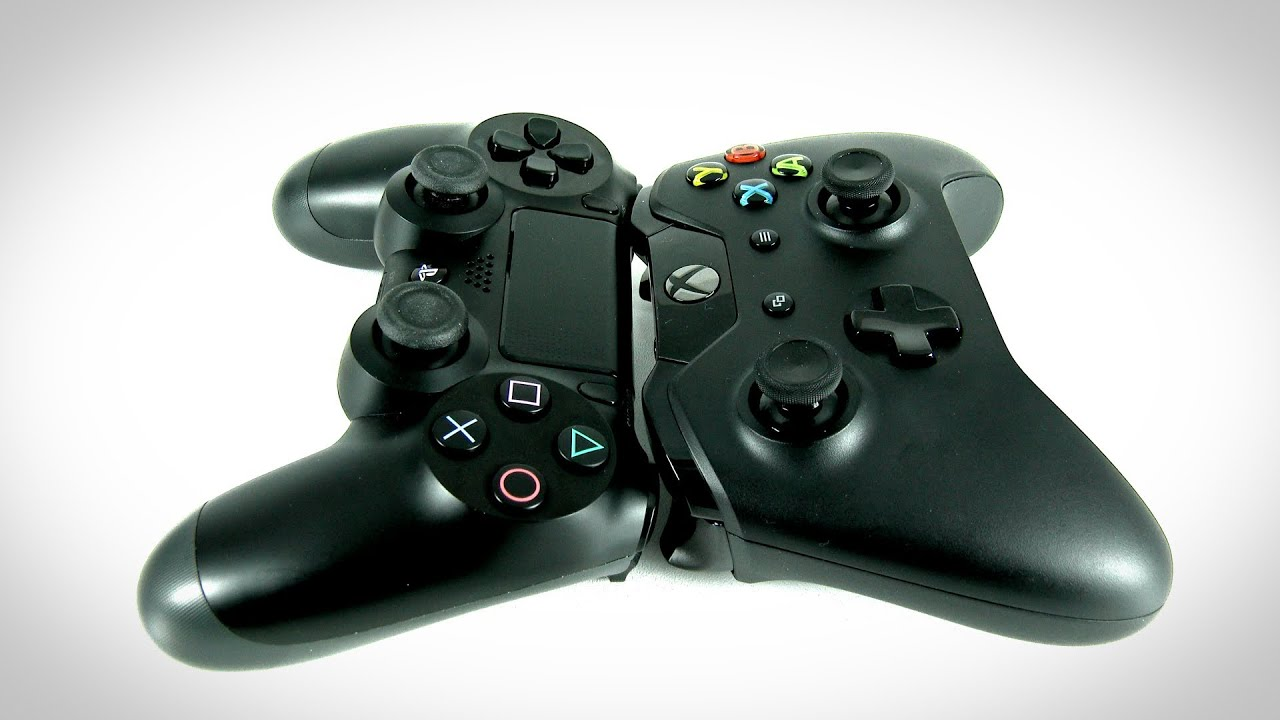 PS4 vs Xbox One Showdown [#1] (The Controllers) - YouTube