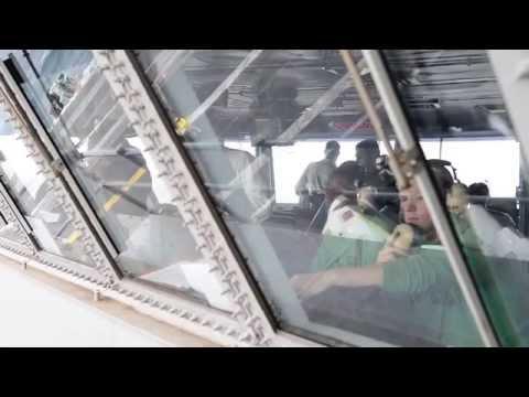 USS Carl Vinson (CVN 70) conducts flight operations