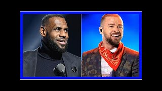 Justin Timberlake Surprises Cleveland Concertgoers When LeBron James Hits the Stage: Watch