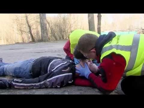 Ratownictwo Medyczne - Wypadek Motocyklowy