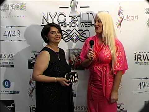 NYC LIVE @ FASHION WEEK INTERVIEWS  BY GENEVIEVE CHAPPELL