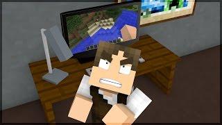 Minecraft: DESISTI DO PARKOUR DO INSCRITO!!!