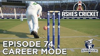 ASHES CRICKET | CAREER MODE #74 | WORLD RECORD CHASE?!?