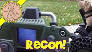 Covert Ops Ultra Tuff Video Recon RC Bot - Dog-Bo Goes On A Ride!