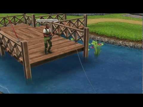 рыбалка the sims 4
