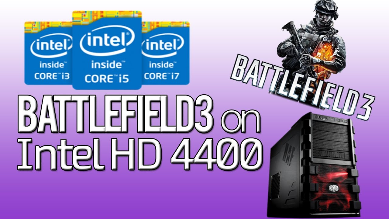 Battlefield 3 on Intel HD 4400 - YouTube