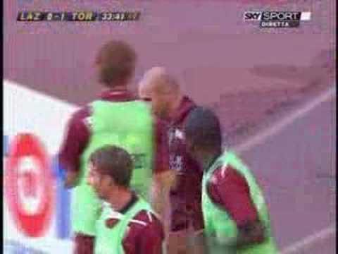 Lazio-Torino 0-1,bellissimo gol di Alessandro Rosina