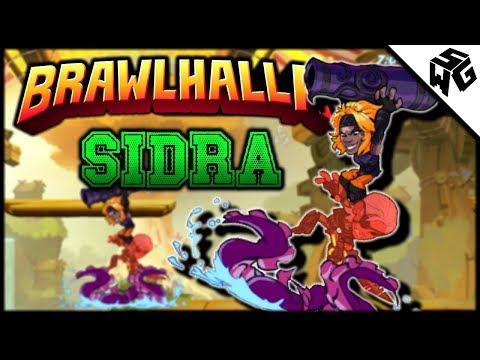 Diamond Ranked Sidra 1v1's - Brawlhalla Gameplay ::  Idk Wut 2 Put H3re