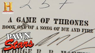 Pawn Stars: Game Of Thrones Limited Edition Signed Book (Season 16) | History