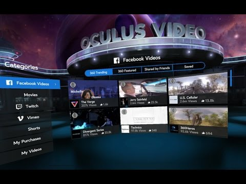Facebook + Dynamic Streaming on Gear VR - Oculus