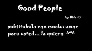 Good People - Hakeem & Jamal Lyon sub. español