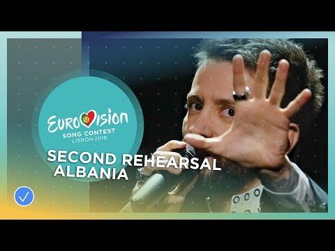 Eugent Bushpepa - Mall - Exclusive Rehearsal Clip - Albania - Eurovision 2018