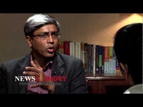 Ashutosh on Hindi-English divide in news media