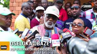 Oseloka Obaze Laments Low Turn-Out In Anambra 2017 Gubernatorial Elections