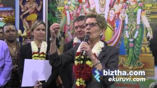 Premier of Ontario visited  Canada Kandasamy Temple for Thai Pongal Pooja,