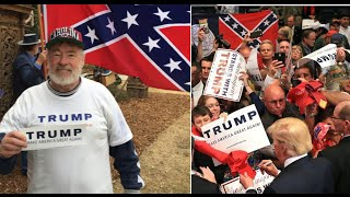 Confederate Trump Supporters Fear White Ethnic Cleansing
