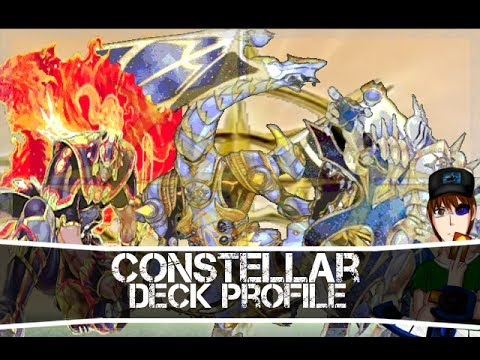 Yugioh Constellar Star Knight Deck Profile January 2014 Format
