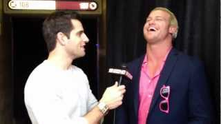 Dolph Ziggler interviewed before cashing in MITB contract