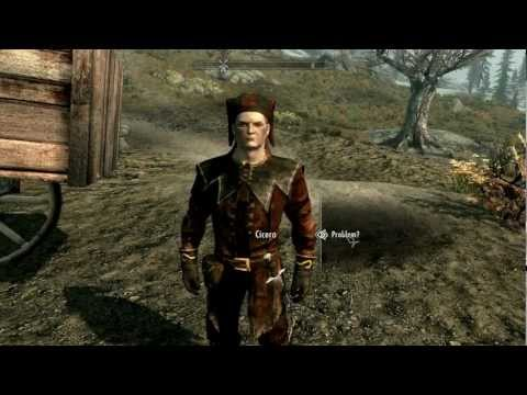 SKYRIM - Cicero First Encounter