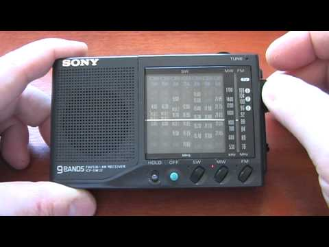Sony ICF-SW22 AM/FM/SW Portable Radio Receiver