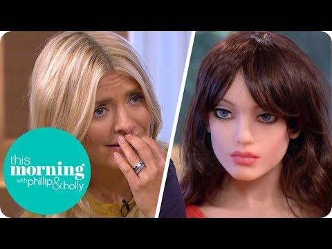 Holly and Phillip Meet Samantha the Sex Robot | This Morning thumbnail