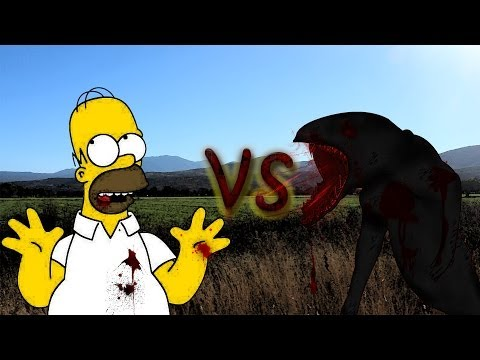 Homero VS El Chupacabras En GTA San Andreas