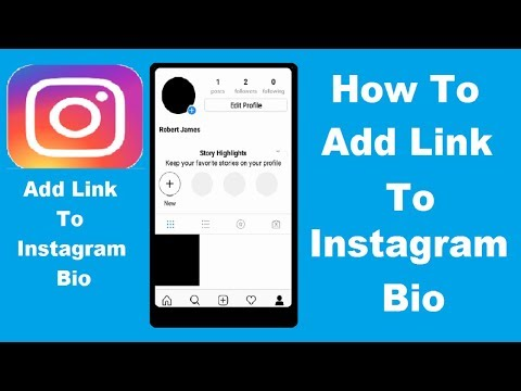 How to add a link to Instagram Bio 2018