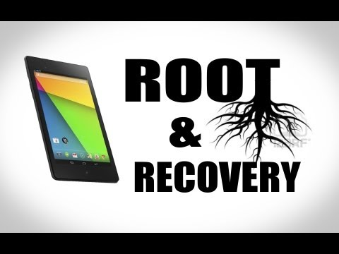 How To Unlock. Root. Recovery.The New Nexus 7 Easy! (2013) Nexus Root Toolkit