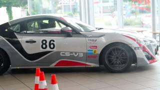 GT86: CS-V3 - The racing GT86