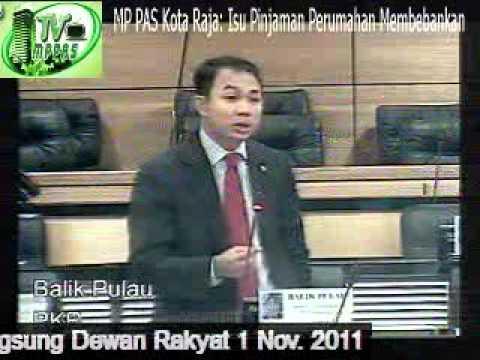 MP PAS Kota Raja: Masalah Pinjaman Perumahan Membebankan