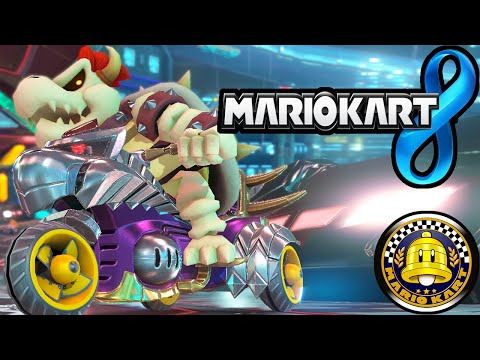 Mario Kart 8 DLC Pack 2 Super Bell Cup! Dry Bowser New Characters Big Blue 60fps Gameplay Wii U HD