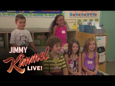 Jimmy Kimmel Talks Politics To Kids