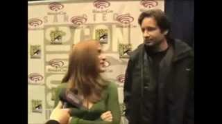 Gillian Anderson & David Duchovny : Thought that is was you...