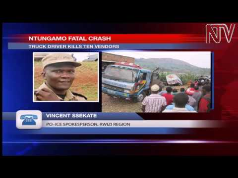 10 killed, 4 injured in Ntungamo accident