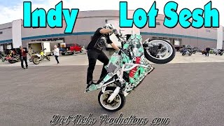 Download INDIANAPOLIS LOT DAY - FEB, 18, 2017 - STUNT RIDING EDIT - FIRST LOT SESH OF 2017 3Gp Mp4