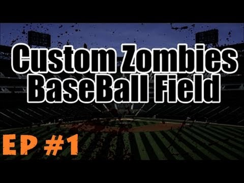 Custom Zombies – BBF (Baseball Field) Re-visited & Hilarity Ensues! (Part 1)