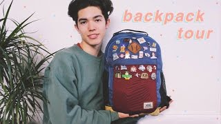 What's In My Backpack ( Pens, Journals, Supplies )