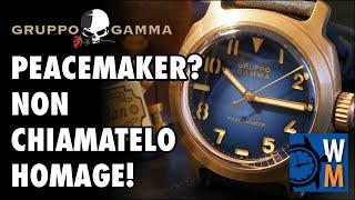 Gruppo Gamma Peacemaker, cassa in bronzo e quadrante spettacolare (ENGLISH SUB)
