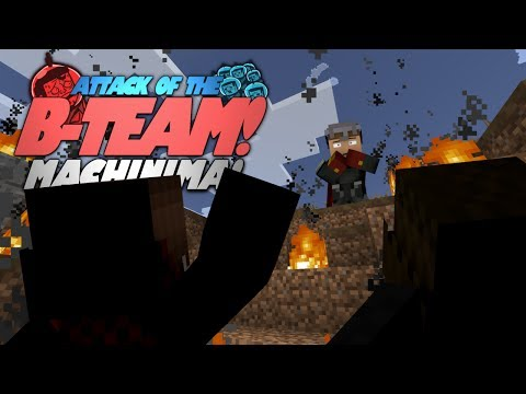Minecraft Machinima: THEY'RE HERE! Attack Of The B-Team Machinima