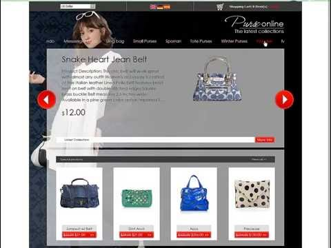 0 Purse Store eCommerce template