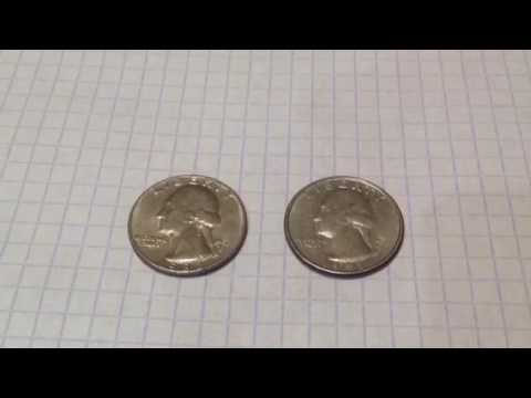 Монеты liberty 1967 и 1993 годов, Москва