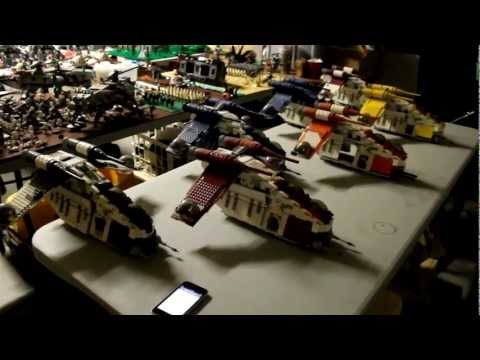 Lego Star Wars Custom Clone Gunship Custom Lego Star Wars