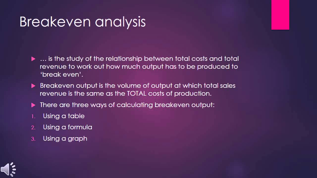 break even analysis case study Breakeven analysis casestudy a break even analysis along with profit not work at your case site for example, your case study might be on a.