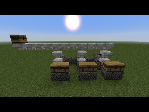 Minecraft Tutorial: Automatic Item Sorting System