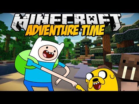Minecraft mody FIN I JAKE : D ADVENTURE TIME MOD NOWA WERSJA