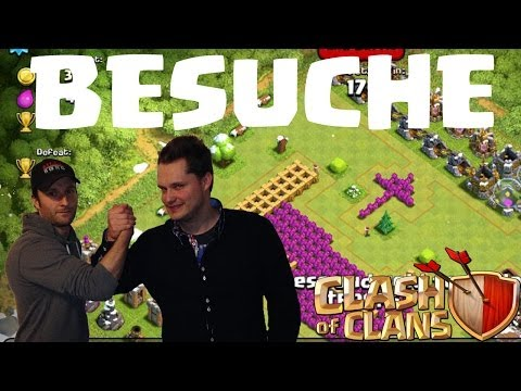 BESUCHE UND REVIEWS || CLASH OF CLANS || Let's Play COC [Deusch/German HD]