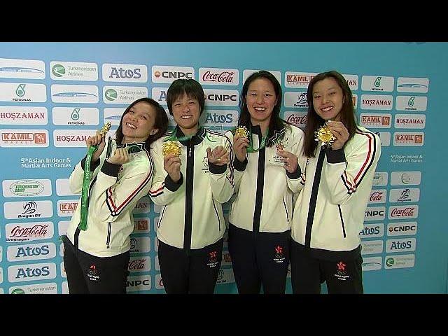 Hong Kong's swimming team breaks Asian Games record - sport